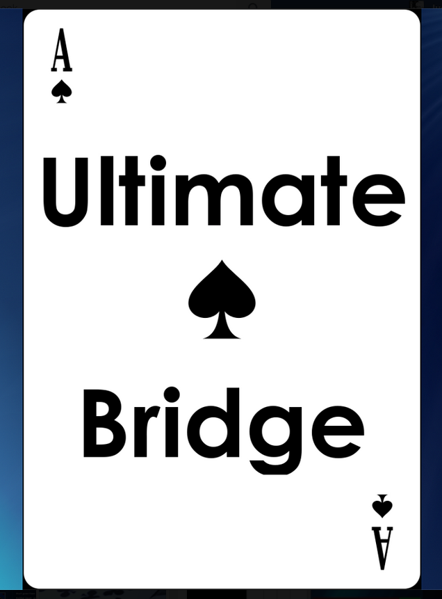 Play Bridge on Facebook - Ultimate Bridge